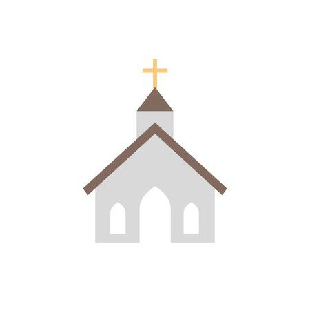 Church icon design vector illustration.