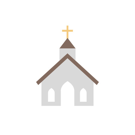 Church icon design vector illustration.
