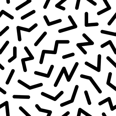 Seamless abstract geometric pattern fashion 80s-90s. It can be used in printing, website background and fabric design.
