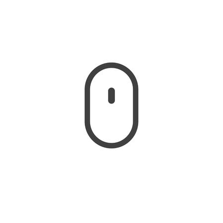 Computer mouse icon for web design. Scrolling design. Vector design trendy.