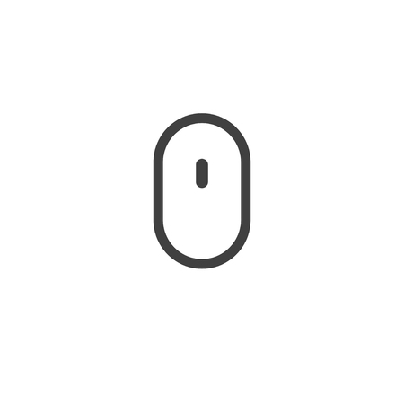 scrolling: Computer mouse icon for web design. Scrolling design. Vector design trendy.