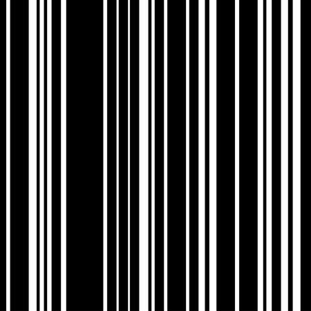 Pattern black and white vertical stripe seamless. Vector background. Illustration