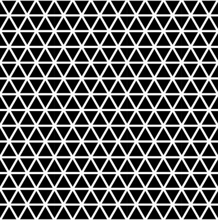 Naadloze driehoek patroon. Geometrische moderne structuur. Abstracte vector achtergrond.