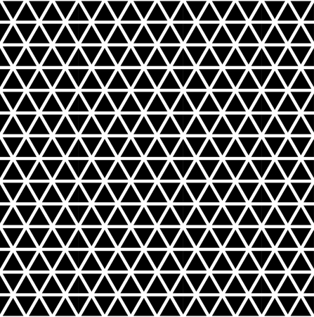 Seamless triangle pattern. Geometric modern texture. Abstract vector background.