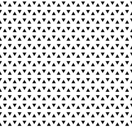 シームレスな三角形のパターン。幾何学的でモダンな生地です。抽象的なベクトルの背景。