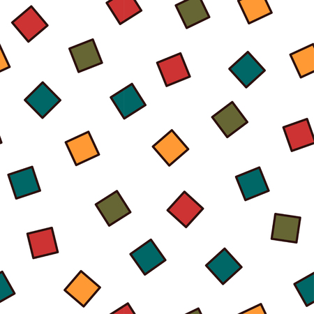 memphis: Seamless abstract geometric pattern fashion 80-90s. It can be used in printing, website background and fabric design.