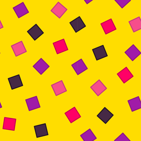 Seamless abstract geometric pattern fashion 80-90s. It can be used in printing, website background and fabric design.