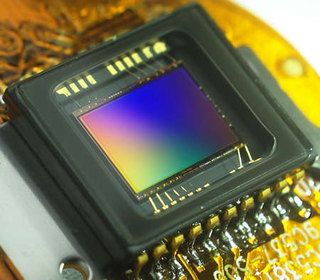 ccd: image sensor Stock Photo
