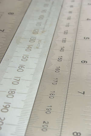 Metal rulers Stock Photo - 4876105