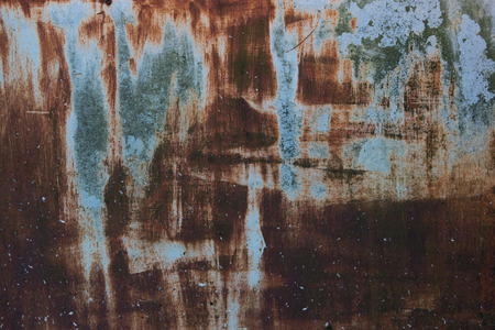 Old rusted metal background, texture or pattern. Stock Photo