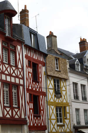 Historical city, architecture,Orleans,France,Europe,daytime.