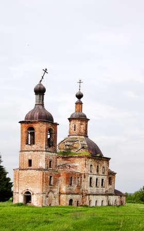 Vieille église délabrée du 17ème siècle Banque d'images - 14204713