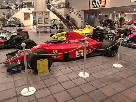 Car Museum of Monaco, Monte Carlo, retro cars and modern cars