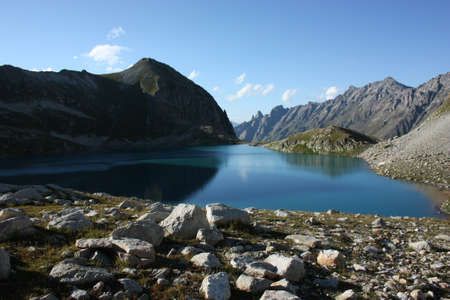 Murudzhinskoe Blue Lake, West Caucasus photo
