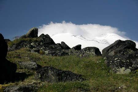 idolatry: Elbrus, the ancient altar of idolatry, the times Chimer