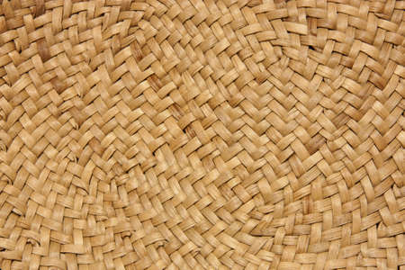 Wicker texture of natural materials photo