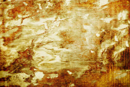 bag of soil: Brown and white grunge background, texture image c dark spots on the wall