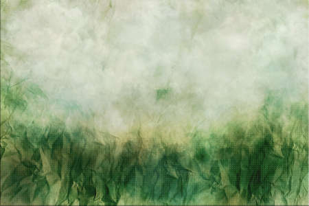 creasy: Green crumpled paper background