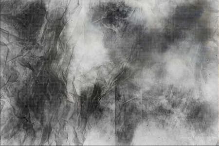 creasy:  Gray crumpled paper background