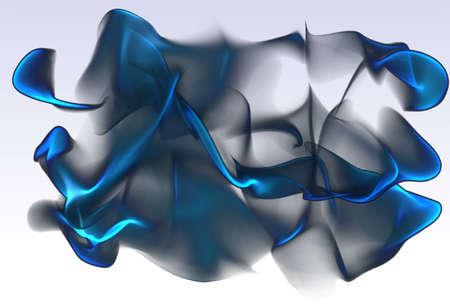 fumo blu: sfocatura, nero con fumo blu