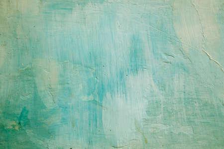 whitewash: Grunge background green wall whitewash lime plaster
