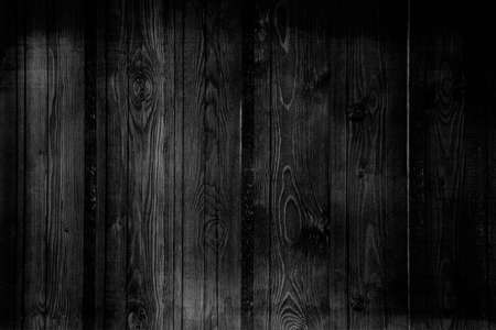vintage timber: black and white wall wood texture background Stock Photo
