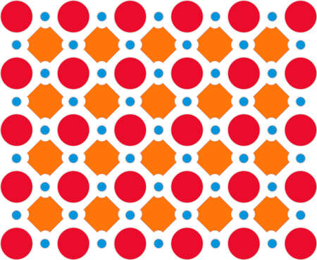 Abstract design, mottled with circles background, vector illustration Vector