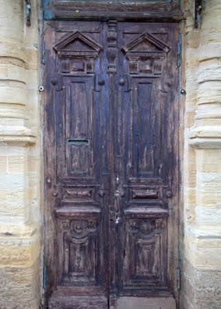 Old decorative door photo