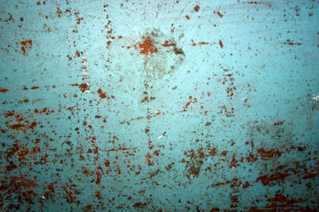 corrosion: the old surface of the colored iron corrosion rust Stock Photo