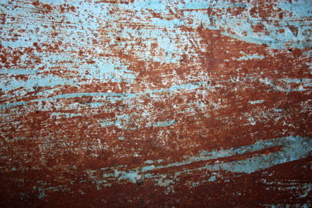 the old surface of the colored iron corrosion rust photo