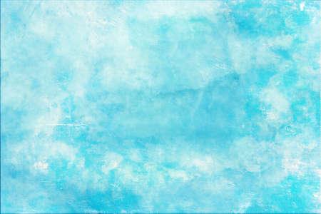 textur: Scratched blue wall textur background