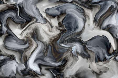 blauwe marmeren textuur achtergrond Stockfoto