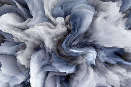 青い大理石のテクスチャ背景 写真素材