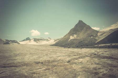 pyramid peak: Mountain peak and glacier snowfields, Pyramid Peak - Peak Shambhala Caucasian Kalitsky