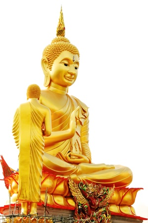 gautama:  Gautama Buddha  in Temple Thailand