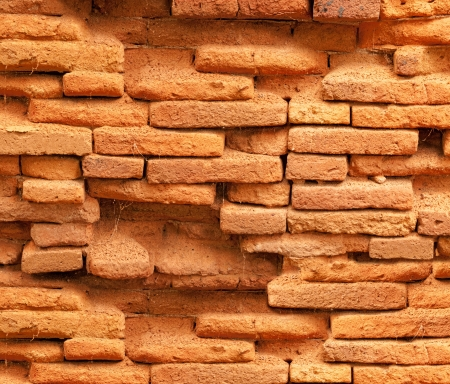 Abstract of old brick wall background.  photo
