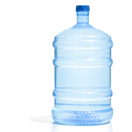 Big Plastic Water Bottle For Potable on white background