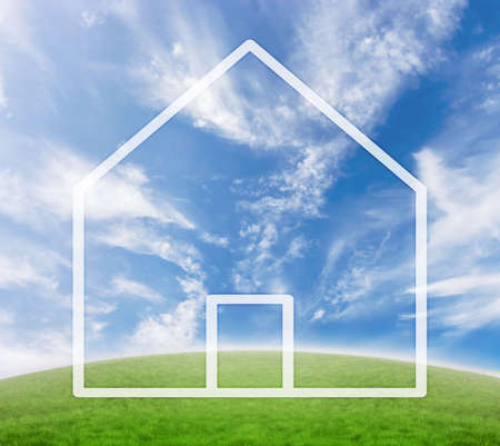 Concept for real estate business or house purchase. Stock Photo - 2290383