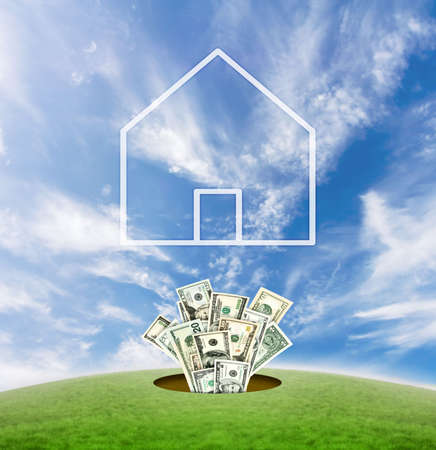 Concept for real estate business in United states of America. Stock Photo - 2290410