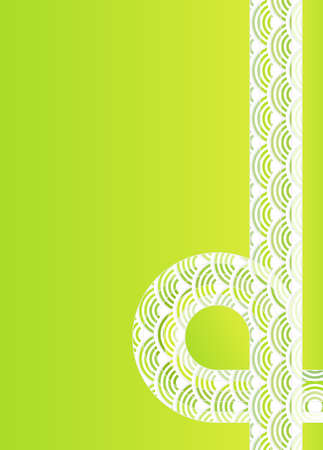 Vector illustration of a beautiful ecology retro design background. Lots of copy space. illustration