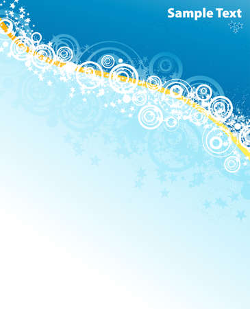 Vector illustration of a beautiful winter party sparkles explosion background. Stock Vector - 4039156