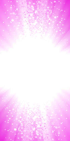 illustration of a magical pink explosion of stars. Glowing light center for custom elements.