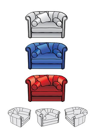 easy-chair Illustration