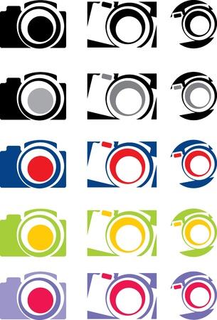 photo camera part 1, vector