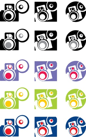photo camera part 4, vector