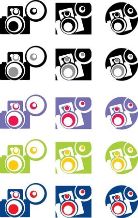 photo camera part 4, vector