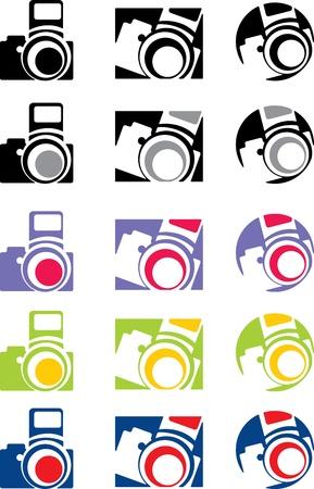 photo camera part 5, vector