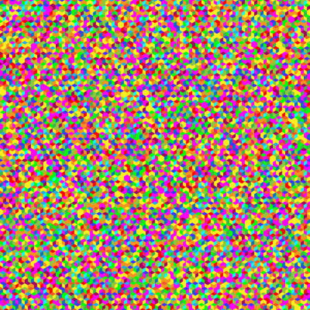 Multicolor seamless cubic texture.  Illustration