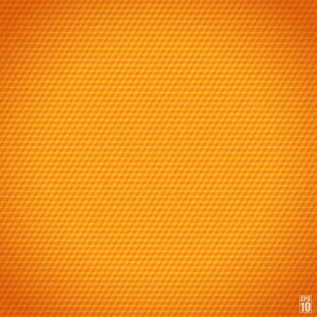 Orange seamless cubic texture.