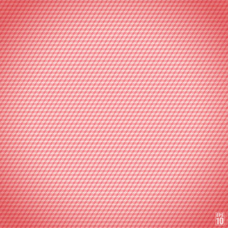 rosy: Pink seamless cubic texture.